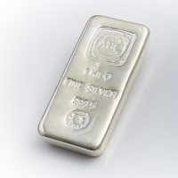1kg Cast Silver Bullion Bar 999 Purity