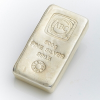 500g Cast Silver Bullion Bar 999 Purity